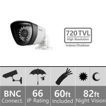 Samsung SDC-7340BC Weatherproof Night Vision 960H Camera BNC 110-220 volts