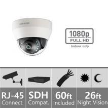 Samsung SDC-9410DU 1080p Full HD Indoor Dome Camera 110-220 volts