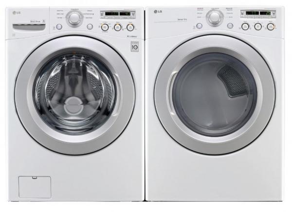lg wt1101cw 43 cu ft top load washer dlg1102w 73 cu ft