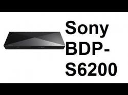 Sony BDP-S6200 4k  Region Free Blu-Ray Player 110-220 volts
