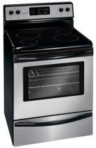 Frigidaire by Electrolux MFF3025RC 76cm Self Clean Ceramic Glass Cooking Range 220-240 Volt/ 50 Hz