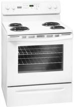 Frigidaire by Electrolux MFF3015RW 76cm Self Clean Coil Cooking Range 220-240 Volt/ 50 Hz