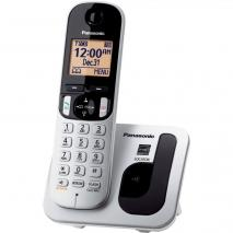 Panasonic KX-TGC210S Cordless Phone - Silver 110-220 volts