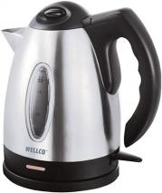 Welco WEL101 Brushed Stainless Steel Cordless Jug Kettle 1.7Litre 220 240 volts