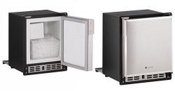 U-Line SP18FCS 15� Crescent Ice Maker for Marine and RV Markets Up to 23 lbs 220-240 Volt/ 50 Hz