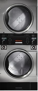 Speed Queen STT30N VENDED Stack Dryer for 120/208-240V, 100/200V, 230-240V, 200-208V, 380/400V, 460-480V