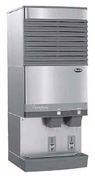Follett F110FB400A/W-L-Int Freestanding icemaker with Lever dispensing for 220V/60Hz and 230V/50Hz