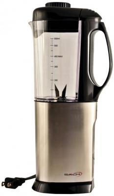 Saachi SA-1460 Stainless Steel Coffee Grinder / Wet & Dry Chutney Grinder with 1/2 Liter Blender Attachment 110 volts 60 Hz