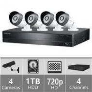 Samsung  SDE3001N 4ch Security Camera System For 110 - 240 Volts