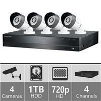 Samsung SDH-B3040 - 4ch Security Camera System 110-220 volts