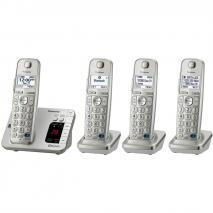 Panasoinc KX-TG484SK 4 Handset Link2Cell Cordless Phone 110-220 Volts