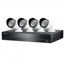 Samsung SDC-B3040 4 Channel HD Security System with 1TB Hard Drive, 4 720P Weatherproof Bullet Cameras, and 82' Night Vision