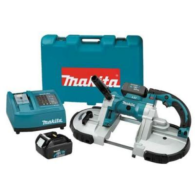 Makita BPB180 Portable Band Saw Combo Kit for 220-240 Volt