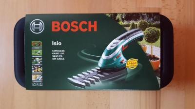 Bosch Isio3 Cordless Shrub and Grass Shear Set for 220-240 Volt/ 50 Hz