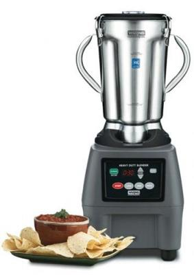 Waring WACB15TEEX Commercial Food Blender with Electronic Keypad & Timer 4 Liter (1-gallon) Capacity  220-240 Volt/ 50 Hz