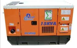 GENERATOR 15KVA DIESEL WITH ATS 220 volts 50-60 Hz