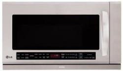 LG LMHM2237ST 2.2 cu. ft. Over The Range Microwave, Stainless Steel FACTORY REFURBISHED (FOR USA )
