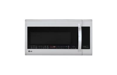 LG LMVM2033ST 2.0 cu. ft. Over The Range Microwave, Sensor Cook, 300 CFM Vent, Stainless Steel FACTORY REFURBISHED (FOR USA )