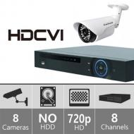 Samsung SDH-P4041N 8ch Hybrid Security Camera System