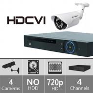 Samsung SDE120 Security System with 4-Channel DVR & 4 Cameras FOR 220 VOLTS