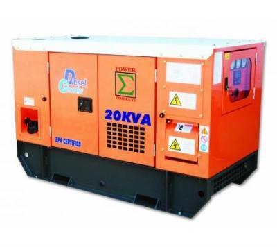 Generator JDP20 20KVA Diesel Water Cooled Generator 110-240 volts