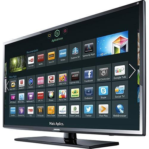 "Samsung 40"" UA-40H5103 Full HD multisystem smart LED TV ..."
