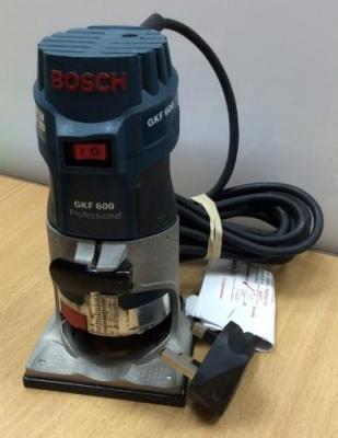 Bosch GKF 600 1 HP Palm Router 220 VOLTS