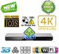 PANASONIC DMP-BDT460 2K/4K Multi Region All System Blu Ray Disc DVD Player - PAL/NTSC - 2D/3D - Wi-Fi - 100~240V 50/60Hz World-Wide Use
