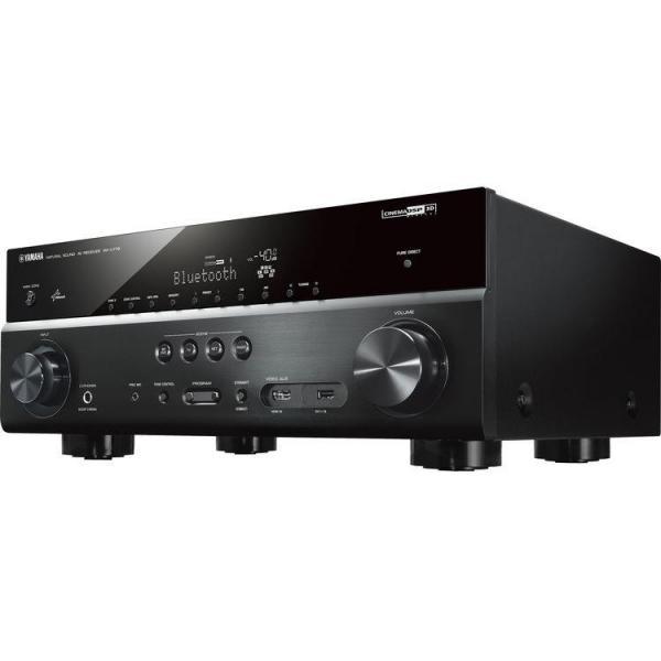 Yamaha rxv779d 7 2 channel av receiver black 110 220 for Yamaha tv receiver