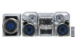 Panasonic SC-AK520 Mini System with 3-Way Speakers, Subwoofer, and 5-CD Changer 220 volts