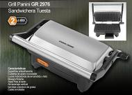 DeLonghi DEBGR50 Grills Reversible Die-Cast Electric Grill 220-240 Volt/ 50-60 Hz