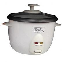 Black & Decker RC1050 350W 1 L 4.2 Cup Rice Cooker White for 220-240 volts  (Non-USA Compliant)