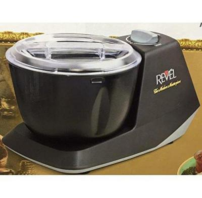 Revel CDM301 Atta Dough Mixer Maker Non Stick Bowl, 3 L  Black for 220 volts