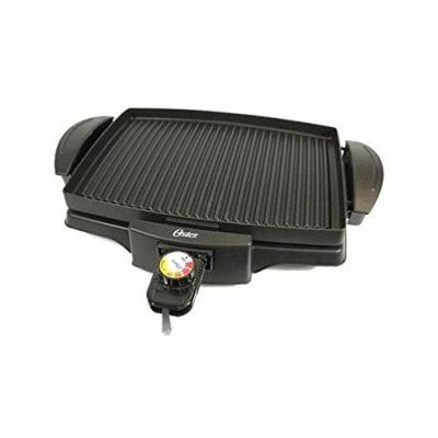 Oster 4767 Non-Stick Indoor Grill, Black for 220-volt