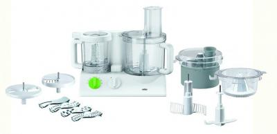 Braun FX3030WH Tribute Collection 600-Watt Food Processor White for 220-volts (Not for USA)
