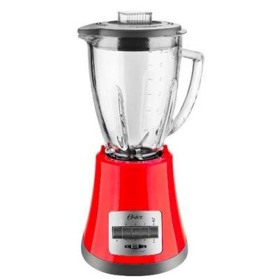 Oster BLSTMG-R 8-Speed/220-volt 6-Cup Glass Jar Blender, Red for 220 Volts (Not for USA or Canada)