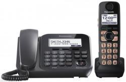 Panasonic KX-TG4771B Cordless Corded Phone for Worldwide Use! 110V 220V 240V