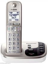 Panasonic KX-TGD220 CordlessPhone Dual Voltage for 110 220 Volts