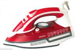 Black And Decker X2210 2200W Steam Iron (NON-US) 220V For Overseas Only