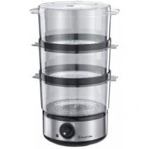 Russell Hobbs 14453 Food Collection Compact Food Steamer 7 L - Brushed Stainless Steel 220 240 volts,
