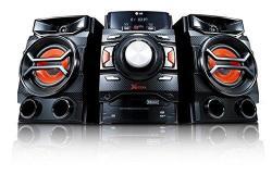 LG CM4350 460 WATT HI-FI SYSTEM for 110-220 Volts