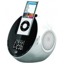GPX Alarm Clock Radio With iPod Dock 110 - 220 Volts