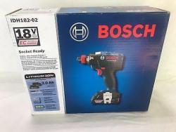 Bosch IDH182-02 18V EC Brushless Socket Ready Impact Driver Kit 220 volts