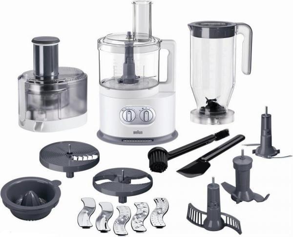 Braun Fp5160 220 Volt Food Processor With Juicer
