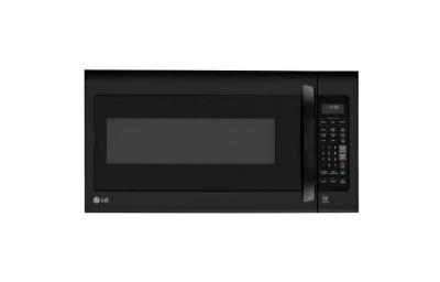 LG LMV2031SB 2.0 cu. ft. Over The Range Microwave, Smooth Black FACTORY REFURBISHED (FOR USA )