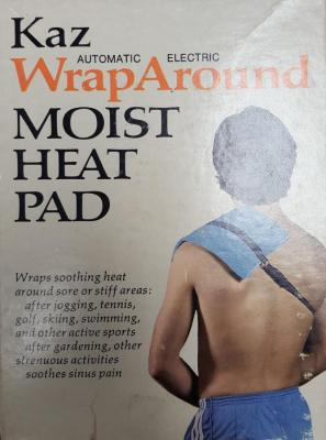 Kaz 44MH Electric Moist Heat Pad for 220 Volts