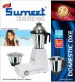 Sumeet Domestic-DXE 110V Traditional Indian Mixer Grinder, White 110 Volts ONLY FOR USA AND CANADA