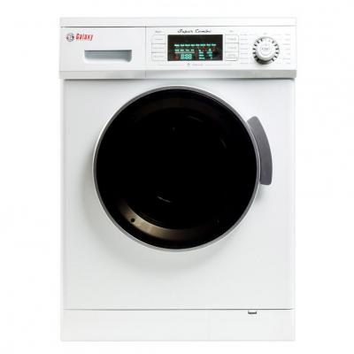 Galaxy GX4000CVW 13 lb. Convertible Washer/Dryer Combo - Instant Savings ONLY FOR USA AND CANADA WHITE COLOR