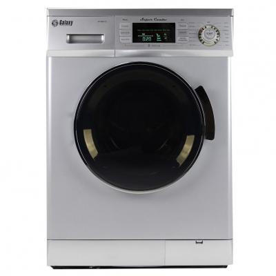 Galaxy GX4000CVS 13 lb. Convertible Washer/Dryer Combo - Silver ONLY FOR USA AND CANADA SILVER COLOR