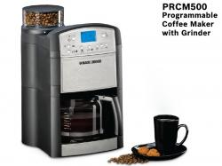 Black & Decker PRCM500-B5 Coffee Maker With Grinder 220 volts 50 Hz NOT FOR USA